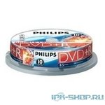 PHILIPS DVD+R DL 8.5Gb, 8x, Cake Box 10шт