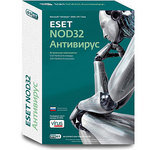 Антивирус Eset NOD32 ENB-NS-BOX-1-1 NOD32 Антивирус + Bonus лицензия на 1 год на 3пк