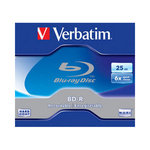 Blu-ray, HD-DVD диски BD-R Disc Verbatim 25Gb 6x 43714/43715