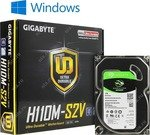 платформа GIGABYTE GA-H110M-S2V/ Seagate ST1000DM010/ Windows 10  Home  SL  (OA3)