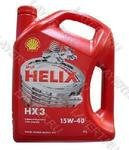 Масло моторное Shell Helix HX3 15W40 (4л)