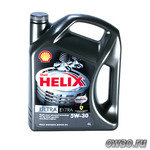Моторное масло Shell Helix Ultra Extra 5W30 4L