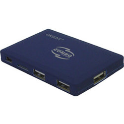Картридеры Orient CO-730 USB2.0 CFMDMMCMMCmicroRS-MMCSDmicroSDxDMS (PROM2Duo) Card ReaderWriter + 3-port USB