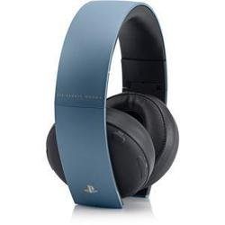 Беспроводные стерео наушники Sony Gold Wireless Stereo Headset 2.0 Limited Edition Gray Blue (PS3)