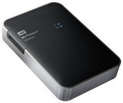Внешний жесткий диск Western Digital My Passport Wireless WDBDAF0020BBK-EESN