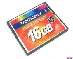 Карты CompactFlash Transcend TS16GCF133 CompactFlash Card 16Gb 133x