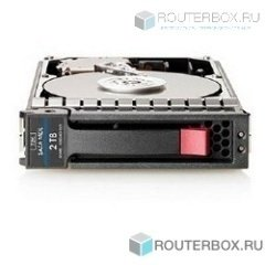 AW555A Жесткий диск HP P2000 2TB 6G SAS 7.2K 3.5in MDL HDD