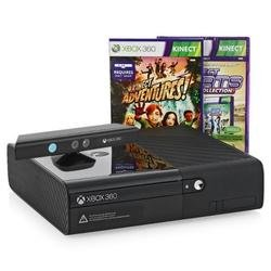 Игровая консоль Microsoft Xbox 360 4 ГБ + Kinect + Kinect Adventures + Kinect Sports Ultimate
