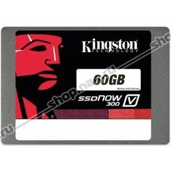 Накопитель Kingston 60GB SSDNow V300, LSI SandForce, SATA3 2.5