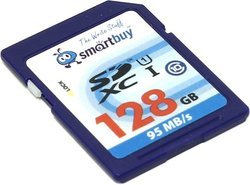 Карта памяти SmartBuy Ultimate SB128GBSDXC SDXC Memory Card 128Gb Class10