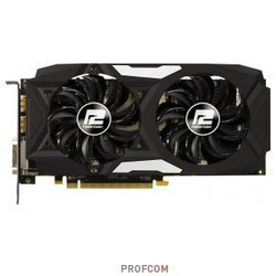 Видеокарта PCI-E PowerColor AXRX 480 8GBD5-3DHD 8192Mb (AMD Radeon RX 480)