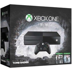 игровая консоль Xbox One (1Tb) + Rise of the Tomb Raider + Tomb Raider Definitive Edition