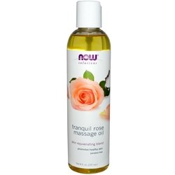 NOW Rose Massage Oil 8 oz - 237 мл (NOW)