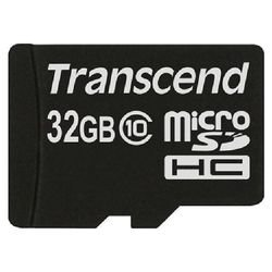 Карта памяти Transcend Micro Secure Digital Card Class 10 32GB TS32GUSDC10
