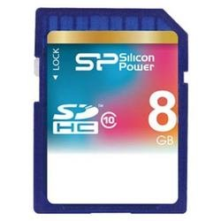 Secure digital 8Gb Silicon Power Class 10 SDHC Secure digital 8Gb Silicon Power Class 10 SDHC