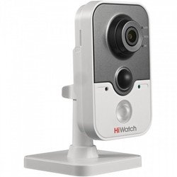 Hikvision DS-I114 (4 MM) HiWatch IP камера мини 1 Мп (1280×720), H55°, 4mm, @F2.0, ИК, PoE