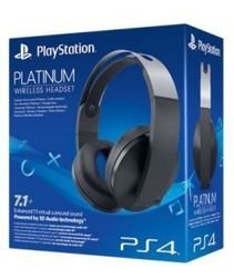 Sony Wireless Headset Platinum Гарнитура беспроводная 7.1 (PS4/PS3/PS Vita)