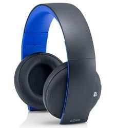PS4: Наушники Gold Wireless Stereo Headset