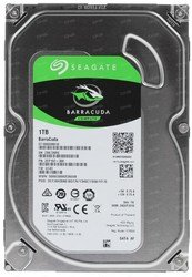 Жесткий диск SEAGATE Barracuda ST1000DM010, 1Тб, SATA III, 3.5