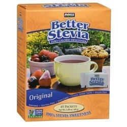 NOW Better Stevia 45 гр 45 пак. (NOW)