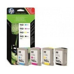 HP C2N93AE HP  940XL набор картриджей HP для HP Officejet Pro 80008500 ms (C4906+C4907+C4908+C4909)