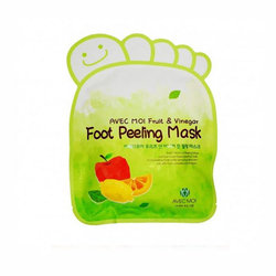 Пилинг для ног Avec Moi Fruit and Vinegar Foot Peeling Mask
