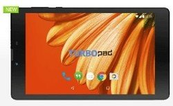 "Планшеты TURBO PAD 724 7""IPS+3GQUAD1GB8GBGPSAND.6.0 черный"