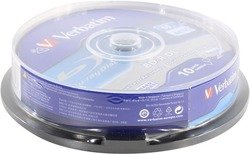 BD-R Disc Verbatim  50Gb  6x Dual Layer   уп.10  шт    на  шпинделе  43746