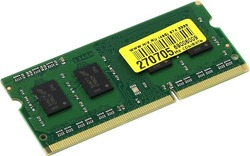 Модуль памяти   Crucial   CT51264BF160BJ   DDR3 SODIMM 4Gb    PC3-12800    (for  NoteBook)