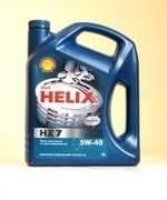 Моторное масло SHELL Helix HX7 5w40 4л