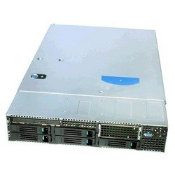 Сервер Intel SR2600URSATAR (Urbanna) dual power supplies passive midplane Redundant fans