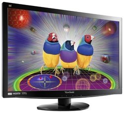 "Монитор 23.6"" TFT ViewSonic V3D231 2ms Black очки в комплекте"