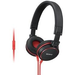 Наушники накладные Sony MDR-ZX610AP Red