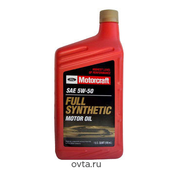 Масло моторное Ford Motorcraft 5W50 Full Sintetic (0.946л) 2